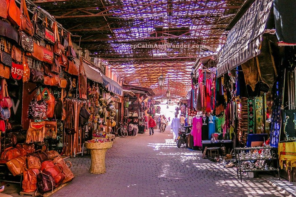 Medina souks walking tour with Local Guide From Marrakech