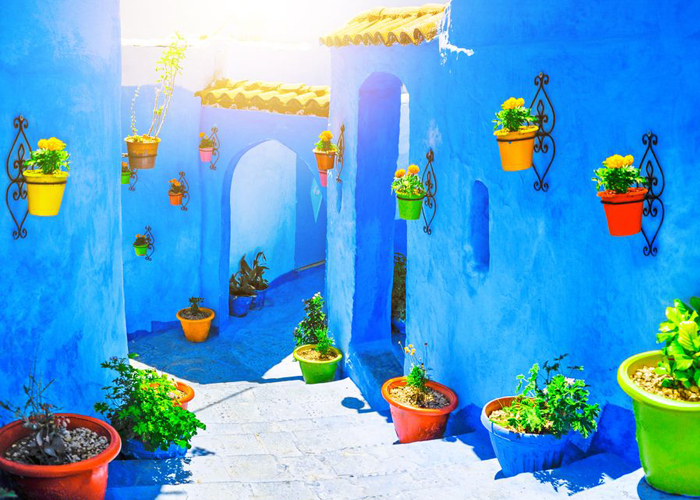 2 Days Private trip from casablanca to chefchaouen blue city